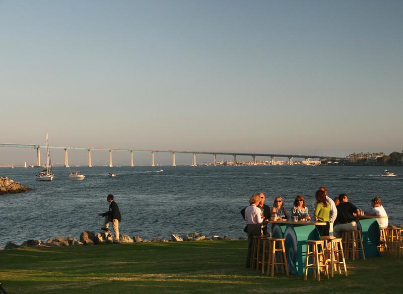 Coronado, Bridge View from Embarcadero Park