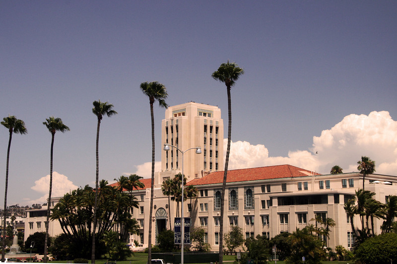 County Administration Building, Front View