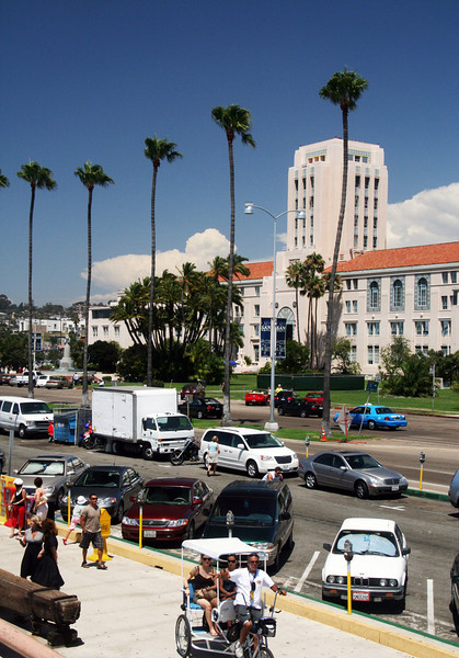 County Administration Building, Activity on Embarcadero