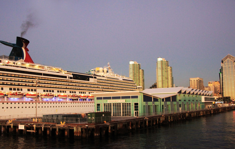 New Cruise Ship Terminal, San Diego 2010