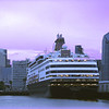 Holland America Lines Statendam in San Diego Port