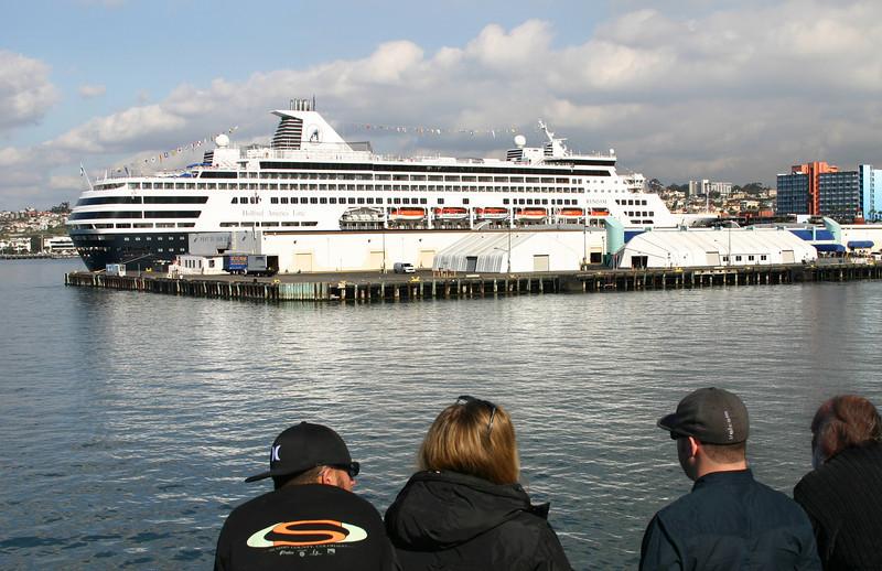 Holland America Ryndam from Hornblower Harbor Cruise