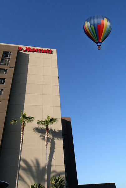 Hot Air Balloon over Marriott Del Mar