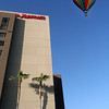 Hot Air Balloon over Marriott Del Mar