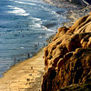 San Diego Beaches, Del Mar Beach from Torrey Pines State Park