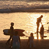 Del Mar Beach, Silhouettes at Sunset