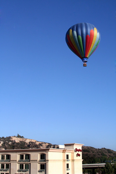Del Mar Hampton Inn, Hot Air Balloon