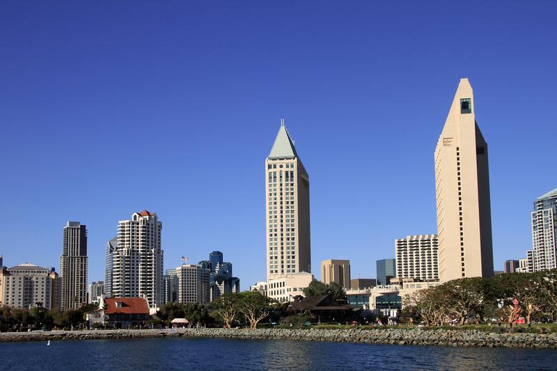 Downtown Views from Bay, Hyatt & Seaport Village