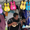 Adams Ave Roots Festival, Guitar Booth