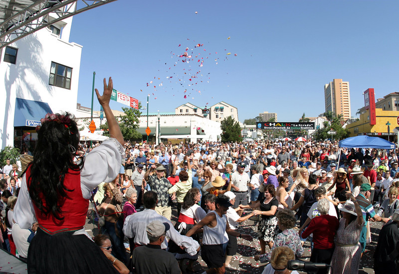 Little Italy, Italian Festival View from Stage