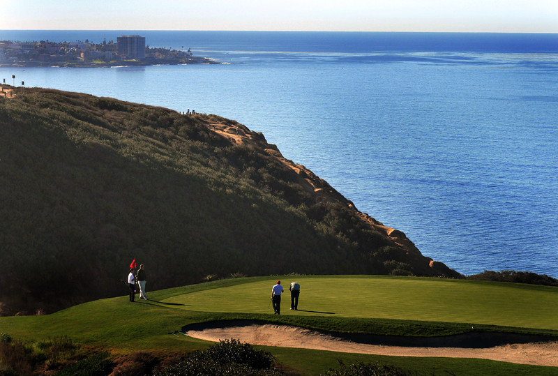 Torrey Pines South Golf Course Third Hole