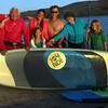 Grand Pacific Palisades Resort, Carlsbad California, Multi-Generational Family Enjoys Stand Up Paddle Boarding on Carlsbad Lagoon