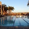 Grand Pacific Palisades Resort, Carlsbad California, Adult Pool in Glow of Sunset