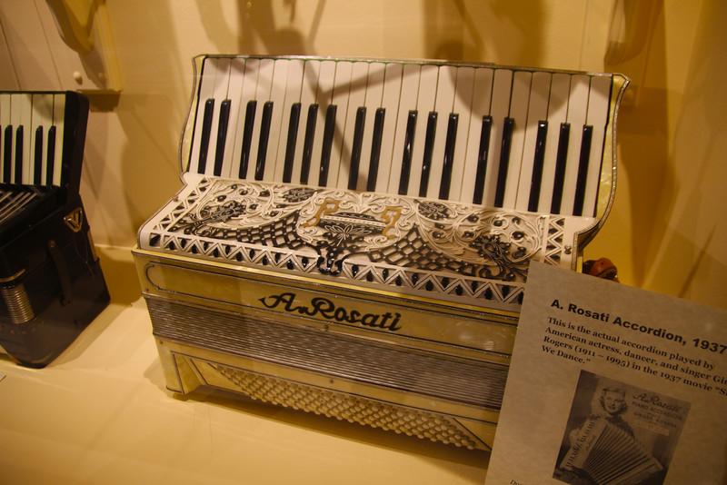 Carlsbad California, Museum of Making Music, Vintage Accordion