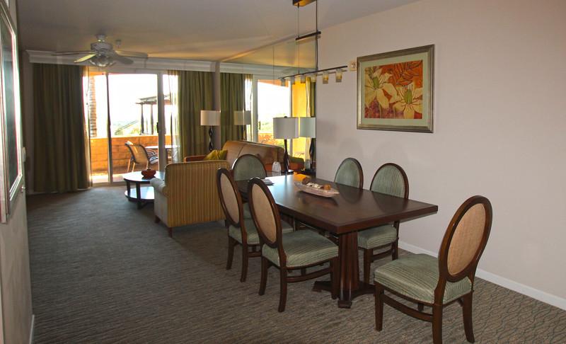Grand Pacific Palisades Resort, Carlsbad California, Dining Area