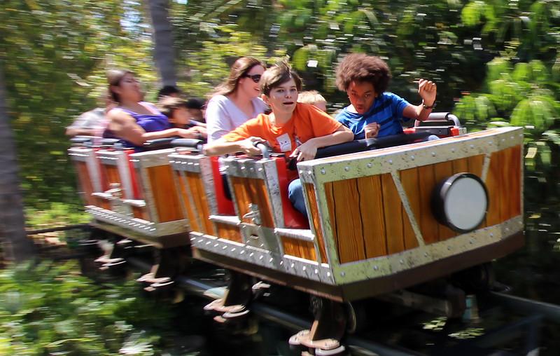 LEGOLAND California, Boys in Roller Coaster