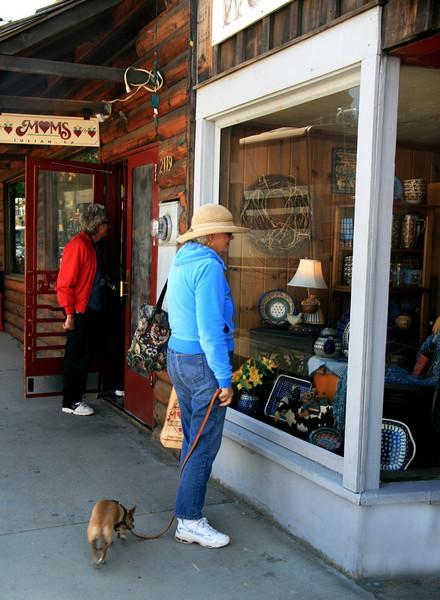 Window Shopping in Julian California