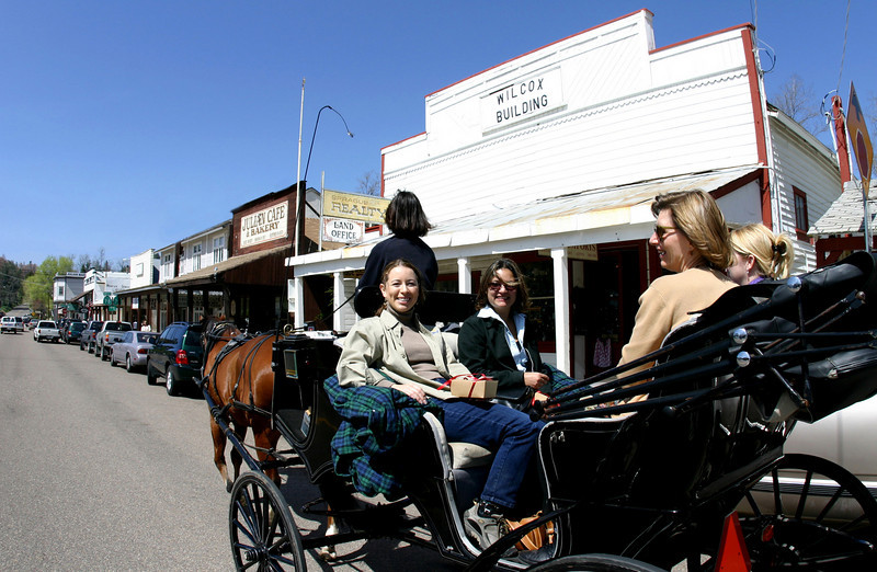 Carriage Ride, Julian California