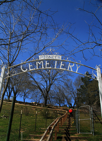 Piioneer Cemetery in Julian California