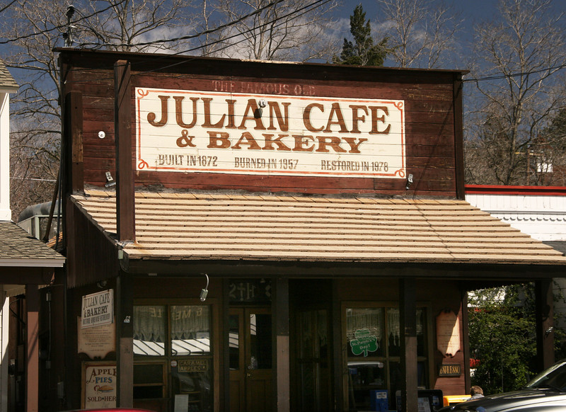 Historic Julian Cafe in Julian California