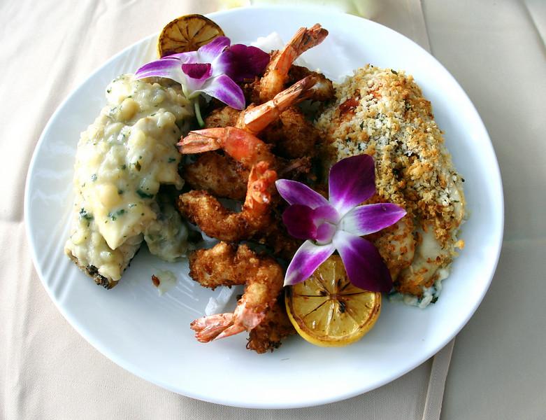 Seafood & flower, Bali Hai Restaurant San Diego