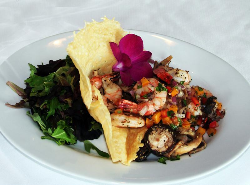 Seafood salad, Bali Hai Restaurant San Diego