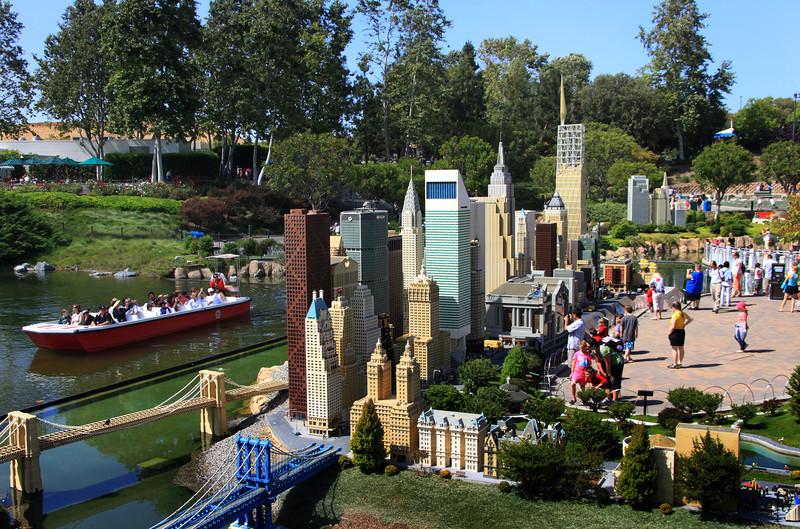 LEGOLAND California, Miniland New York City