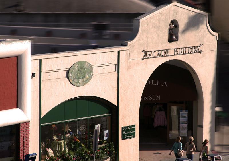 La Jolla Shopping Arcade