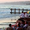 La Jolla Beach & Tennis Club, Sunset Meal on Beach