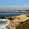 La Jolla, View along the Rocks and Beach