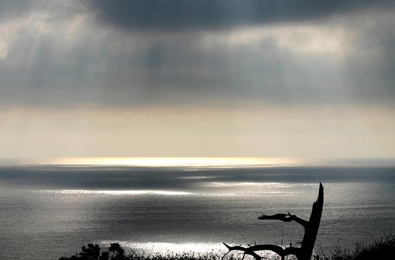 La Jolla, Winter Sunset from Torrey Pines