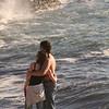 La Jolla Romantic Couple on Beach