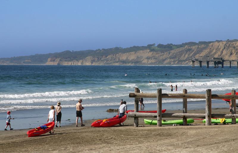 La Jolla, Kayaks & Beach Activity La Jolla Shores