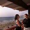 La Jolla, Romantic Toast at Sunset, La Jolla Shores Hotel