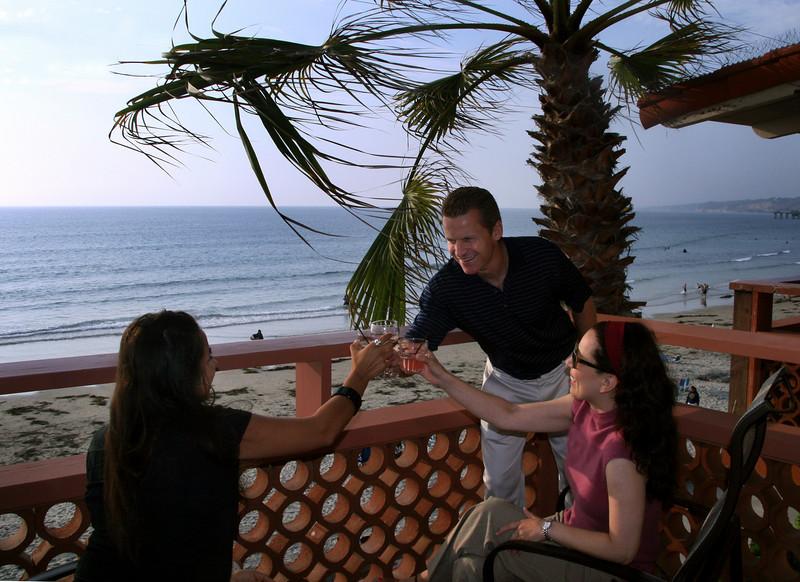 La Jolla, Toast on Balcony La Jolla Shores
