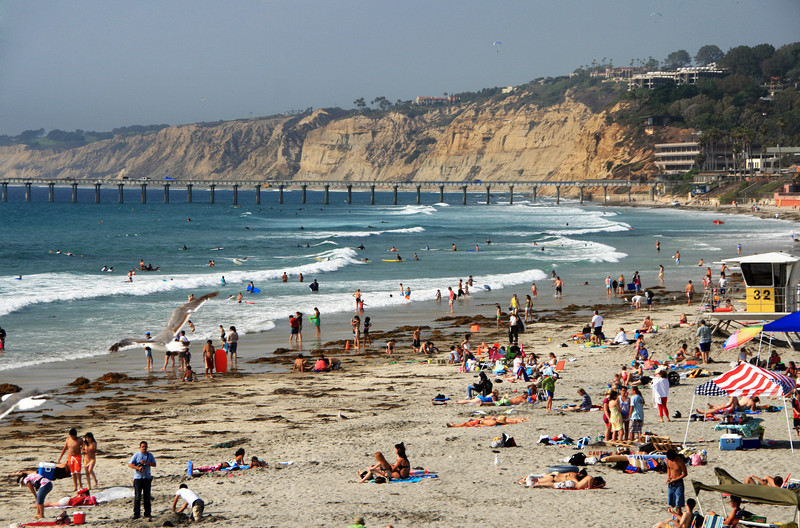 La Jolla Shores, View onto Beach