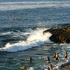 La Jolla, Swimmers at Scripps Cove