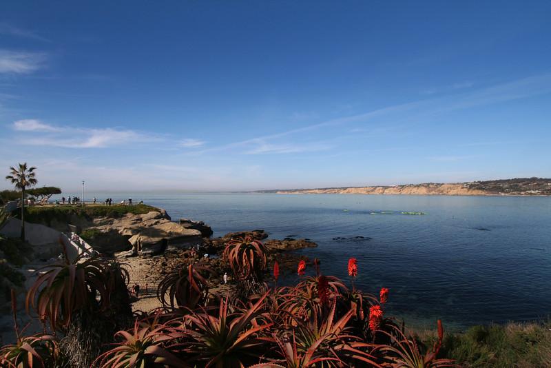 La Jolla, Winter View on La Jolla Cove