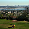 La Jolla, San Diego Skyline from Kate Sessions Park