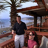 La Jolla, Couple on Balcony, La Jolla Shores Hotel