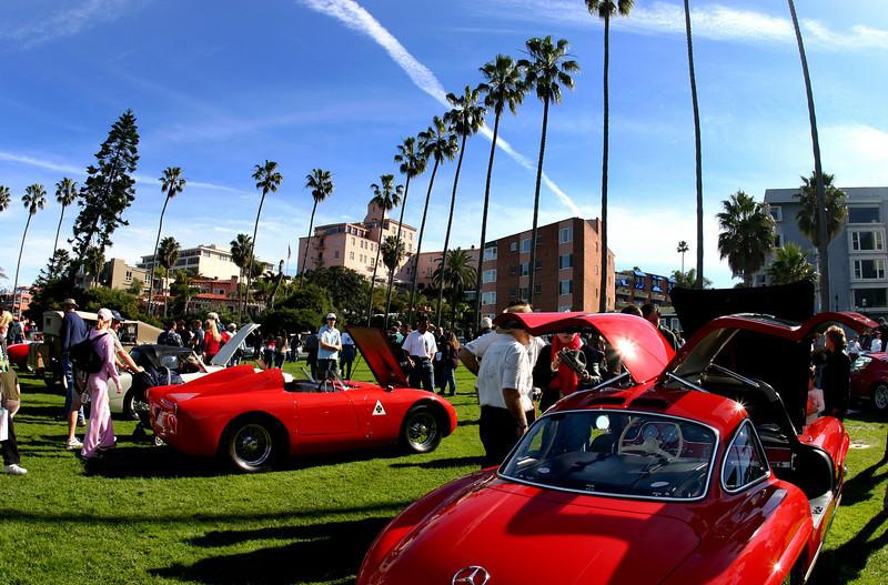 La Jolla Classic Cars at Show
