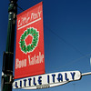 San Diego Little Italy, Buon Natale Sign