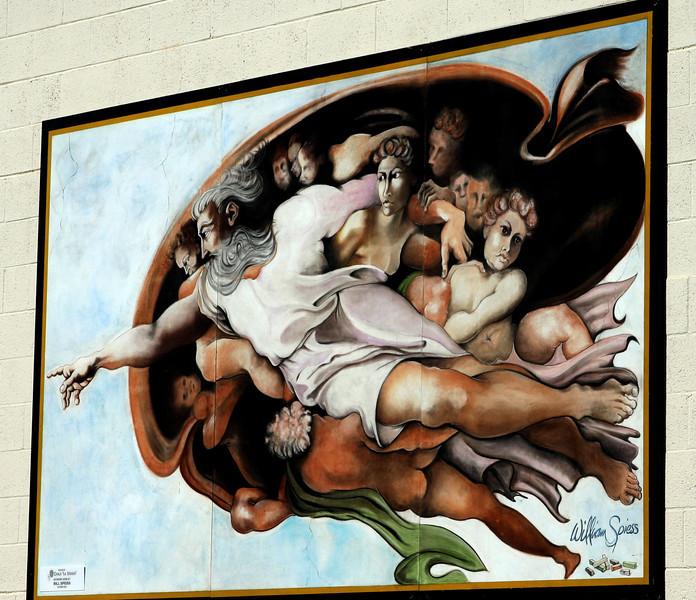 Little Italy San Diego, Wall Mural ©Joanne DiBona