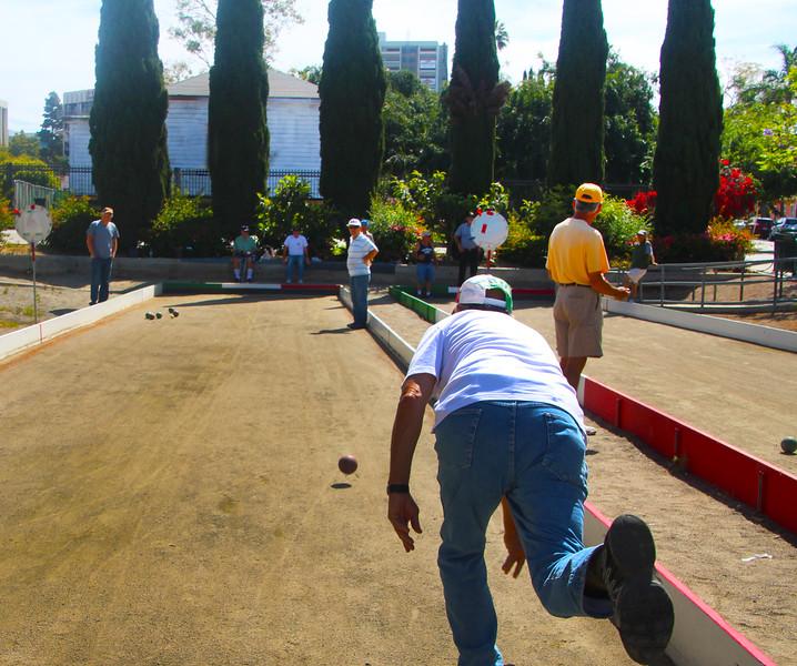 San Diego Little Italy, Bocci Ball Player