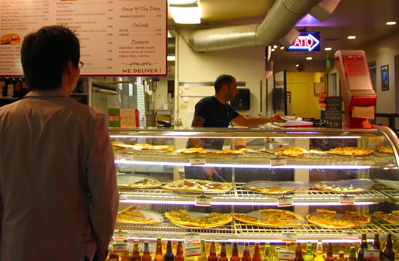 San Diego Little Italy, Pizzeria