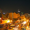 Little Italy, San Diego, Night View from Pensione Hotel, © Joanne DiBona