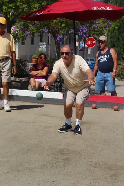 San Diego Little Italy, Bocci Ball Throw
