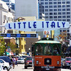 San Diego Little Italy, San Diego Trolley