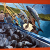 San Diego Little Italy, Fisherman's Mural