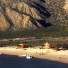 Las Animas Wilderness Lodge, Scene on Strand with Beach Stroller